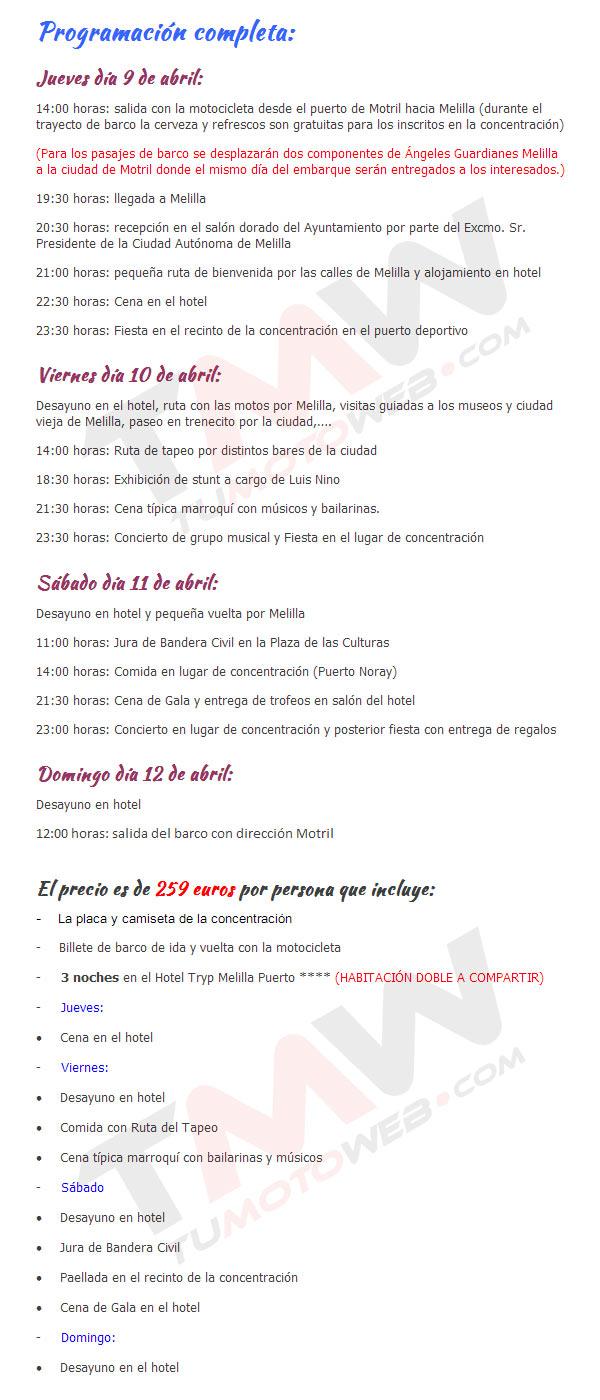 Programa-Melilla 2015-