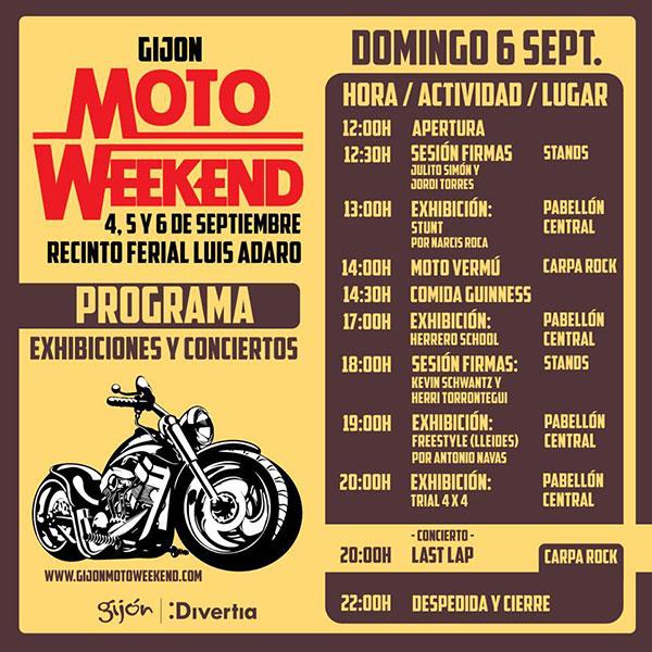 Programa-Domingo6-Gijon-MotoWeekend-Septiembre2015