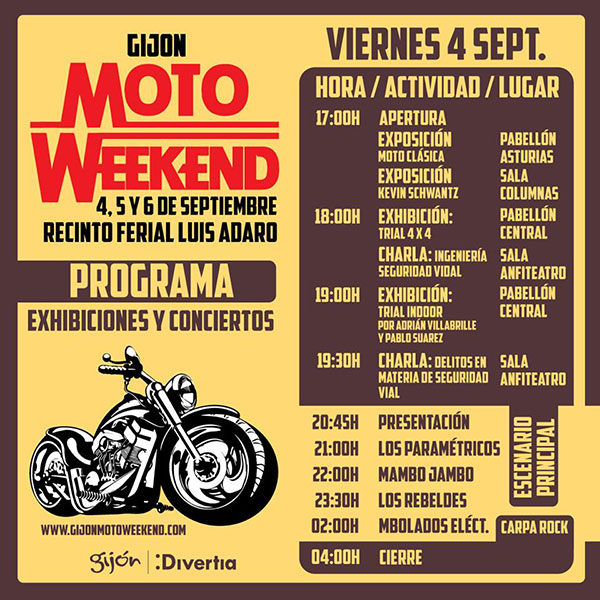 Programa-Viernes4-Gijon-MotoWeekend-Septiembre2015