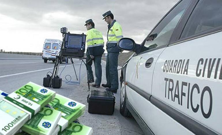 Las multas de los radares se disparan. La DGT recauda más de 470.000 € al día en 2015..!!