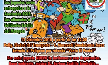 III Recogida de Juguetes y Alimentos Club Motero Sin Gasolina 2015
