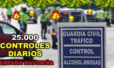 La DGT realizará 25.000 controles diarios de alcohol y drogas durante la campaña de Navidad..!!