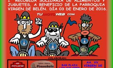 I Recogida Solidaria de Alimentos y Juguetes Descubridores Huelva 2016