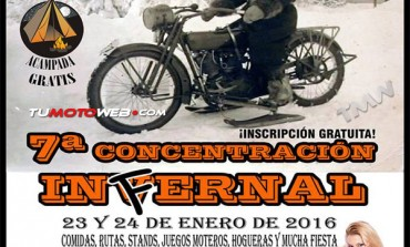 VII Concentración Infernal La Cantera Biker Bar 2016