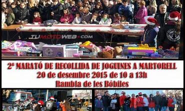 II Maratón Recogida de Juguetes en Martorell 2015