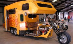 Espectacular Motocaravana Custom