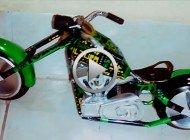 Motos Custom realizadas con materiales reciclables..!!