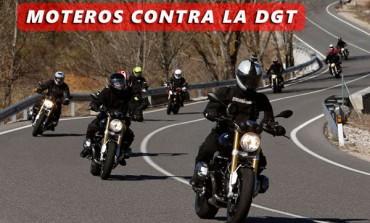 Moteros contra la Dirección General de Tráfico..!!