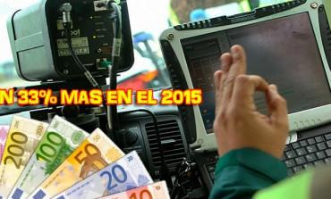 La DGT incrementó en un 33% el número multas por velocidad en 2015..!!