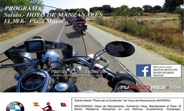 XI Paseo en Moto Parque Nacional Sierra de Guadarrama 2016
