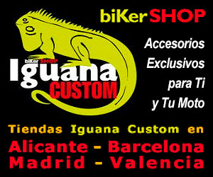 Banner Iguana Custom