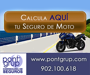 Banner Pont Grup Calcula Seguro Moto2