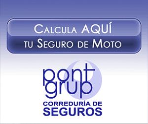 Banner Pont Grup Calcula Seguro Moto3