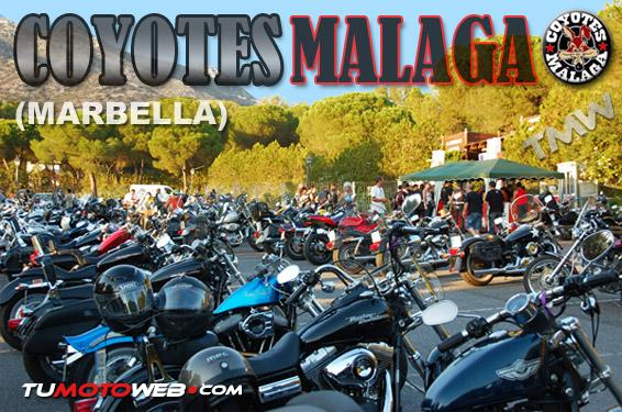 Concentración Coyotes Málaga