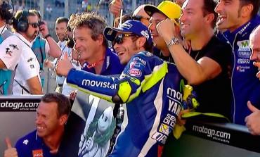Valentino Rossi consigue su pole 64 en Japón