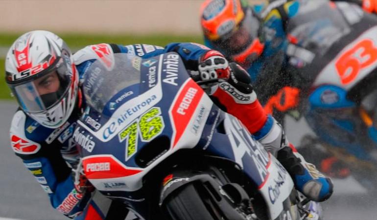 Se cancelan por lluvia las FP2 de MotoGP y Moto2 en el Gran Premio de Australia 2016
