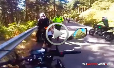 Desagradable sorpresa en plena ruta. Motorista vs Guardia Civil: Me he cagado señor agente..!!