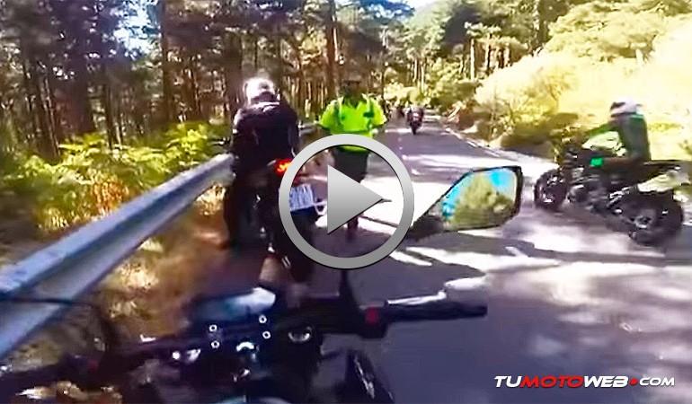 Desagradable sorpresa en plena ruta. Motorista vs Guardia Civil: Me he cagado señor agente..!!
