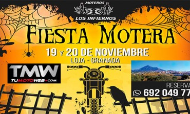 Fiesta Motera Los Infiernos Halloween 2016