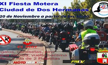 XI Fiesta Motera Ciudad de Dos Hermanas 2016