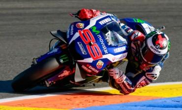 Victoria de Jorge Lorenzo en su última carrera de MotoGP con su Yamaha, en el GP de Valencia 2016