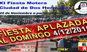Aplazada XI Fiesta Motera Ciudad de Dos Hermanas 2016