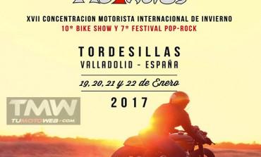 XVII Concentración Motorista Internacional de Invierno Motauros 2017