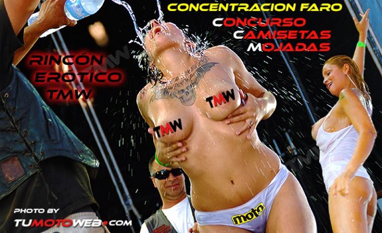 Concentración Faro - Concurso Camisetas Mojadas