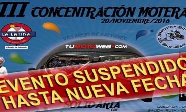 << SUSPENDIDA >> III Concentración Motera Solidaria Bar La Latina-Moteritos Pidrios 2016