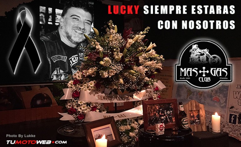 Nuestro amigo Lucky del Mas-Gas Club fallece en accidente de moto en Córdoba