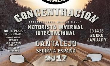 Concentración Motorista Invernal Internacional La Leyenda Continua 2017