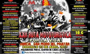 XXII Ruta Mototurística Por La Vida 2017