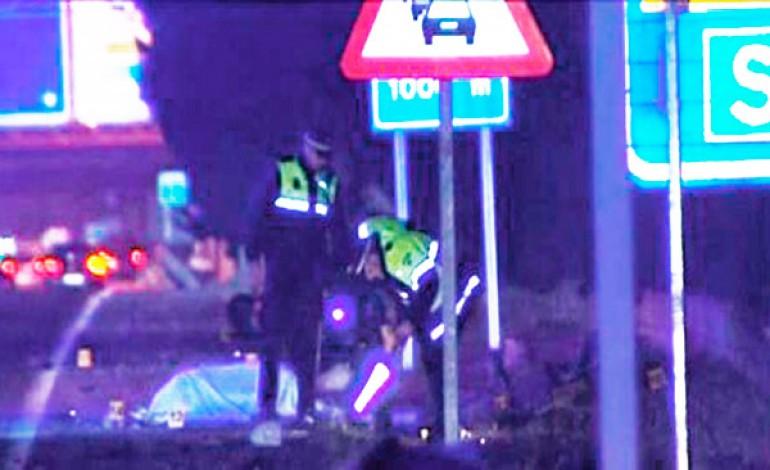 Muere un motorista en Málaga y detienen ebria a la conductora que lo arrolló
