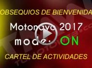 Vídeo Motonavo 2017 mode: ON..!! Obsequios de Bienvenida y Cartel de Actividades