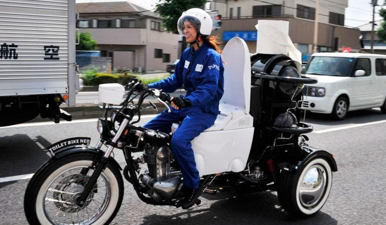 Toilet Bike… la Motoinodoro
