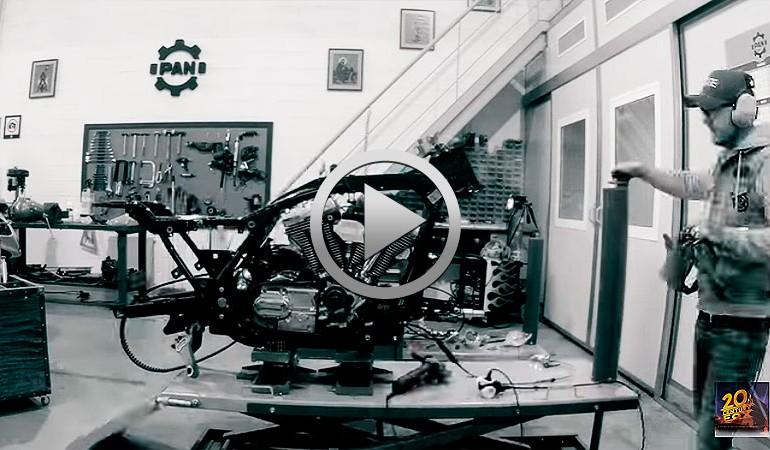 Conoce más detalles de la moto de Logan (Tributo a Lobezno)… Boceto, Desmontaje, Proyecto