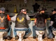 Bathroom Bar en Daytona Bike Week