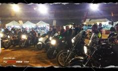 Guardando 1 minuto de silencio con nuestros amigos del MotoClub 12 Leones de Úbeda