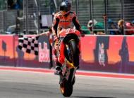 Marc Márquez consigue en Austin su primera victoria de MotoGP 2017
