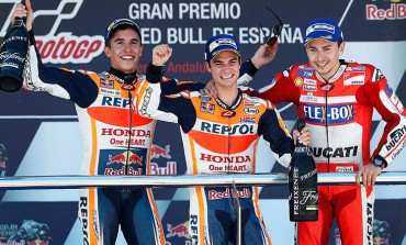 Podio totalmente español en la carrera de MotoGP del GP de Jerez 2017