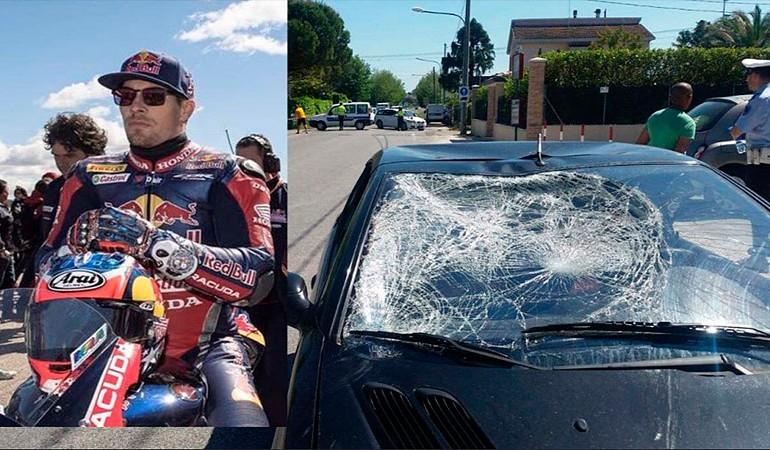 Nicky Hayden, en estado grave tras ser atropellado mientras entrenaba en bicicleta