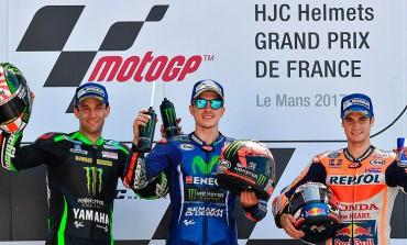 Maverick Viñales reina en la épica batalla de Yamaha en el GP de Le Mans