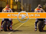 Marc Márquez y Dani Pedrosa, actores por un día