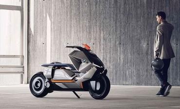 Motorrad Concept Link: La BMW urbana del futuro 100% conectada al conductor