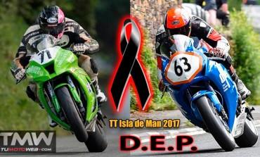 Los pilotos Davey Lambert y Jochem Van den Hoek, fallecen en el TT Isla de Man 2017