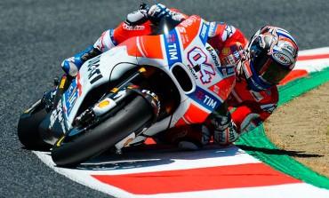Dovizioso consigue su 2ª victoria de MotoGP 2017, en el GP de Cataluña