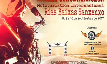 XXXIII Concentración Mototurística Internacional Rías Baixas Sanxenxo 2017