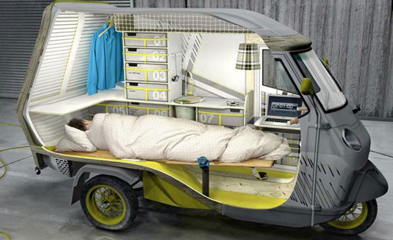 Increible Mini-Motocaravana