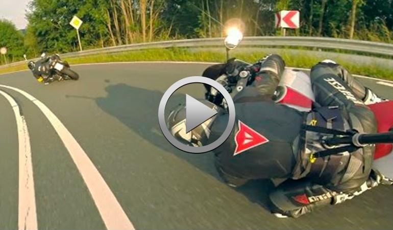 Yamaha R6 persiguiendo a GSXR 1000… Vívelo en 3ª persona