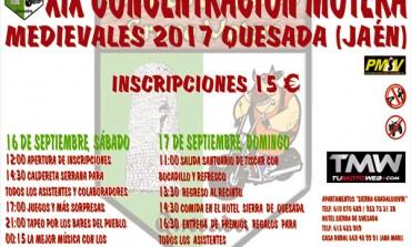 XIX Concentración Motera Medievales 2017